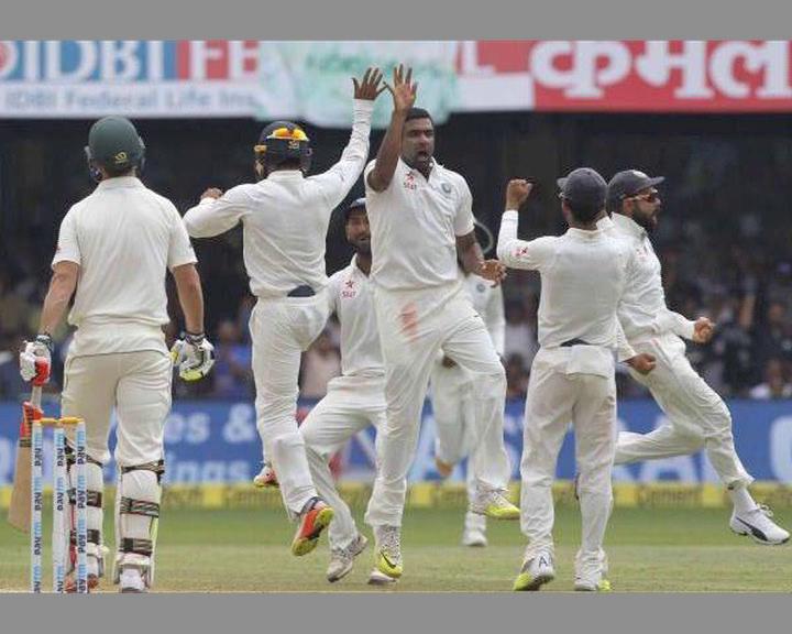 india won bengaluru test match