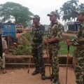 delanga bombing violence