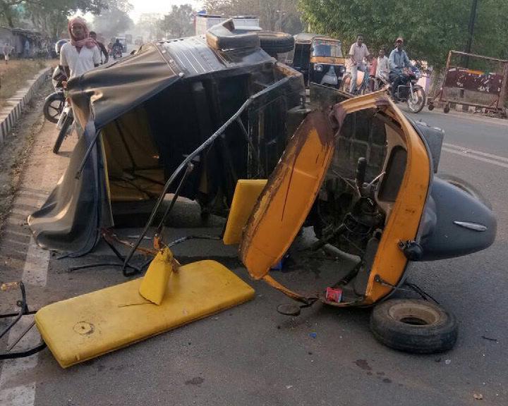 Road accident in Keojhar