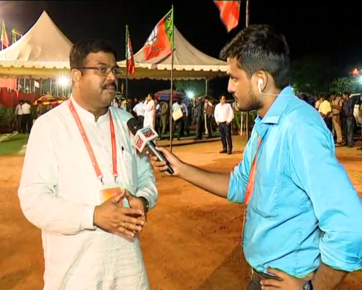 Exclusive Interview with Dharmendra Pradhan in NEC Meet