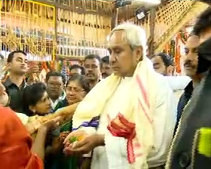 CM Naveen Patnaik Visits Budhi Thakurani Yatra For First Time