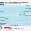 Meaning Of Numbers At The Bottom Of A Cheque