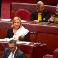 Australian Greens party Sen. Larissa Waters