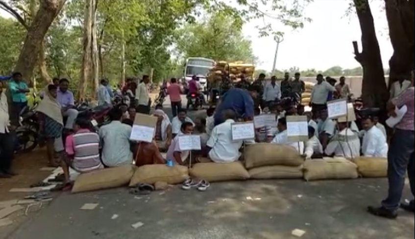 kalahandi farmer strike