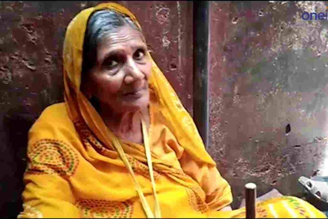 MATHURA: a 70-year-old woman donates 50 lakh to bankebihari temple.