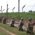a big operation of indian army against terrorist in jammu-kashmir