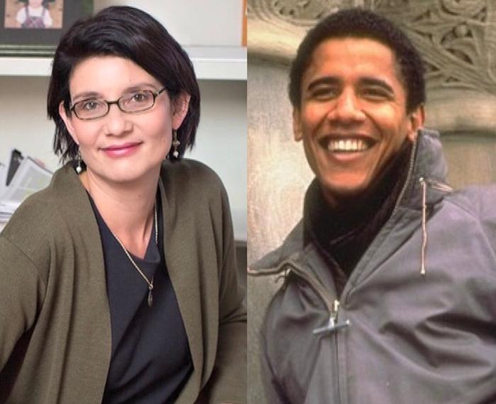 first love story of barak obama
