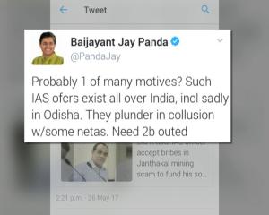 baijanta panda controversial tweet