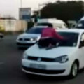 Wife resorted to extreme measure as her husband drives off with girl friend