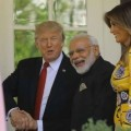President Trump and First Lady Melania give PM Modi a warm welcome