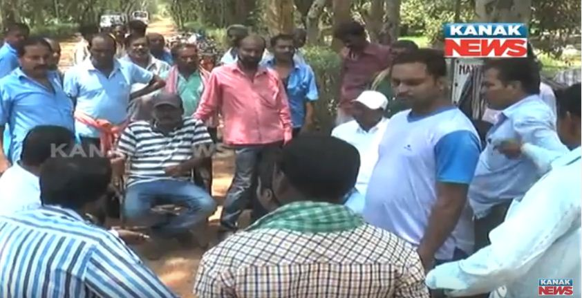Company Workers Problem At Sundargarh