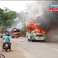 pipili bus accident , 2 died