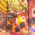 jagannath , balabhadra and subhadra in chariot