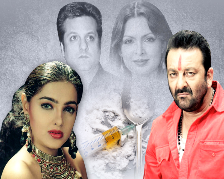 bollywood stars addicted with drugs