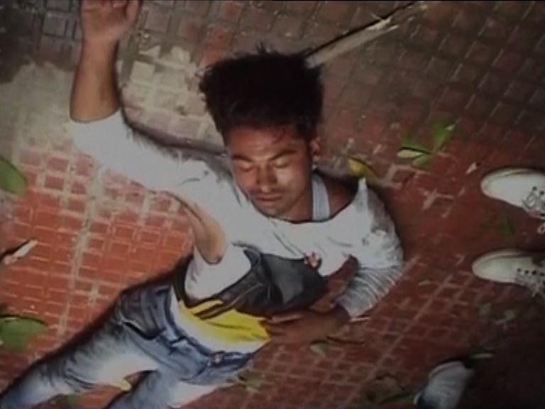 bike-thief-brutally-beaten-in-meerut