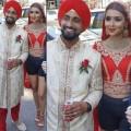 bride-wore-shorts-instead-of-lehenga-on-her-wedding