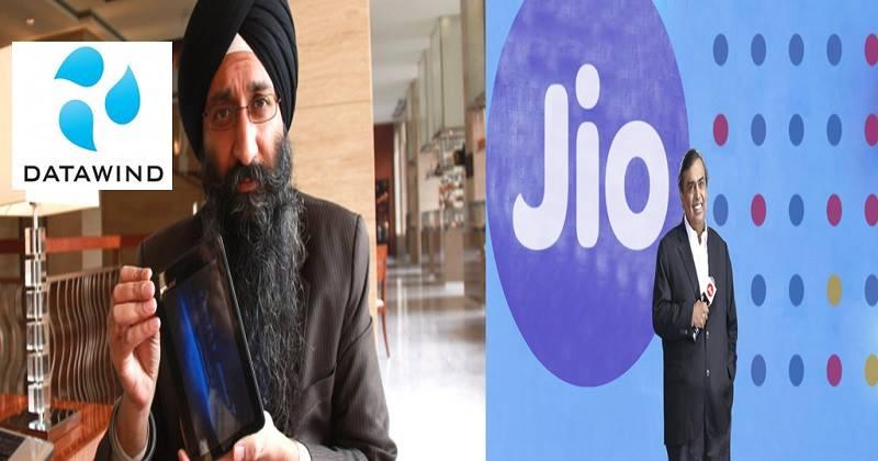 Canadian Telecom Company 'Datawind' Challenges JIO