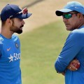 kohli and kumble