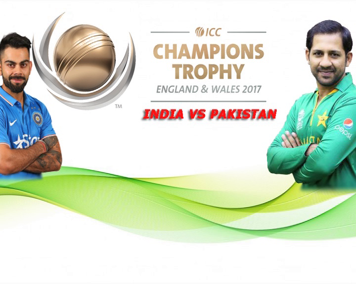india-pak champion trophy match in england , barmiham