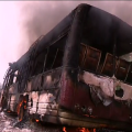 4 buses torched over couple's death in accident in Pipili