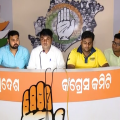 congress press meet -student congress protest at naveen niwas