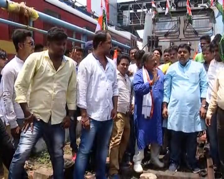 odisha congress protest over rahul gandhi arrest
