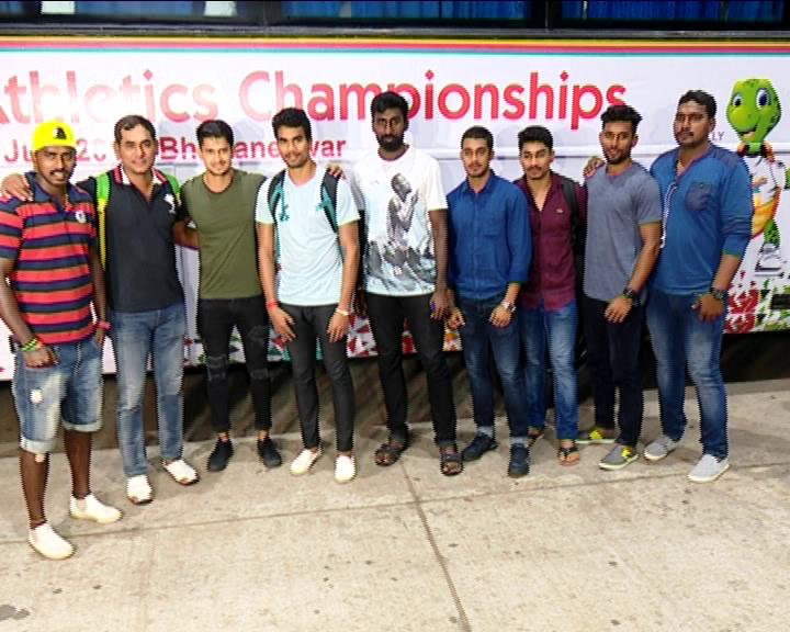 16 athletics in odisha
