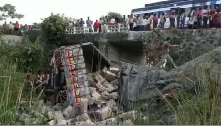 boudh : accident, driver dead