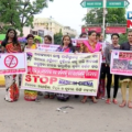kinner protest in bhubaneswar for ban in china product