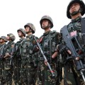 china military exercise in border