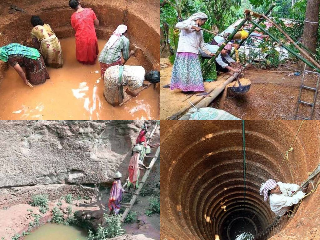 300 Women Dig Wells To Fight Water Scarcity