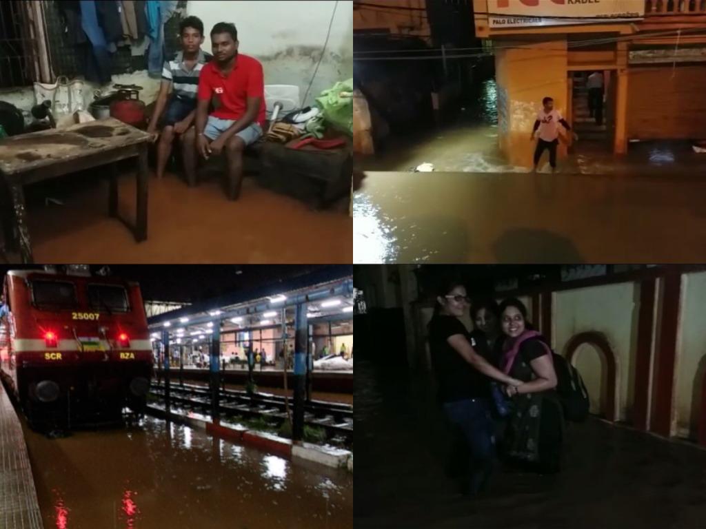 Heavy rain in bhubaneswar