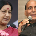 sushma swaraj and rajnath singh