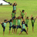 rehearsal in kalinga stadium