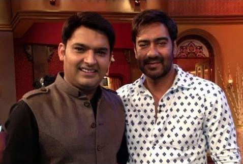 ajay devgan and kapil sharma