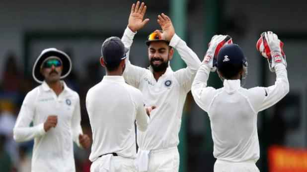 india win test