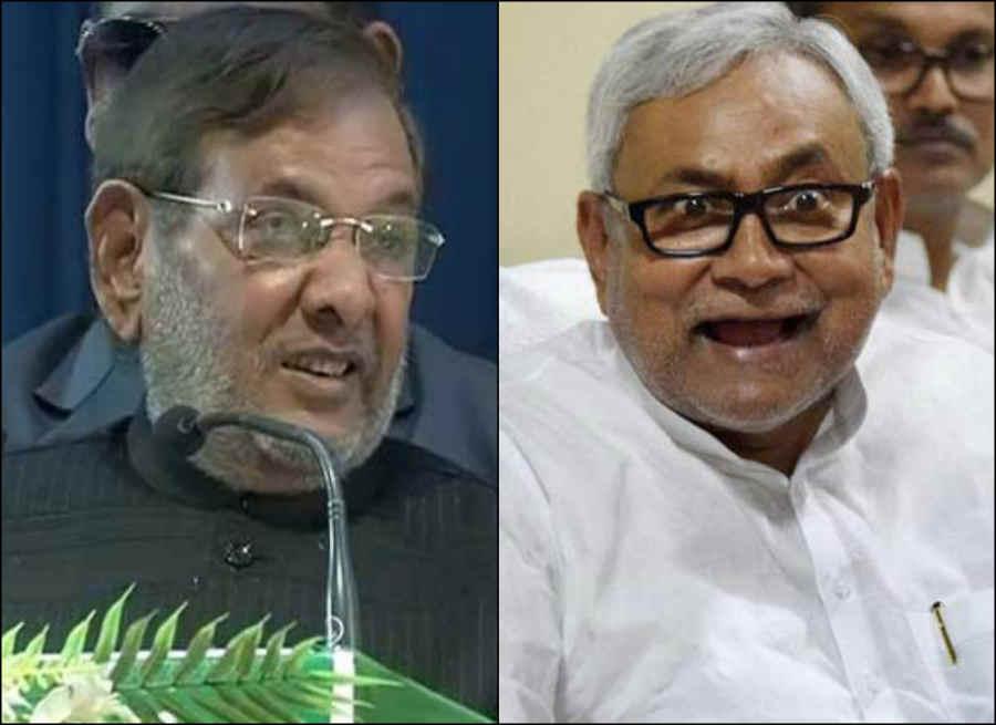 Nitish Sharad fight