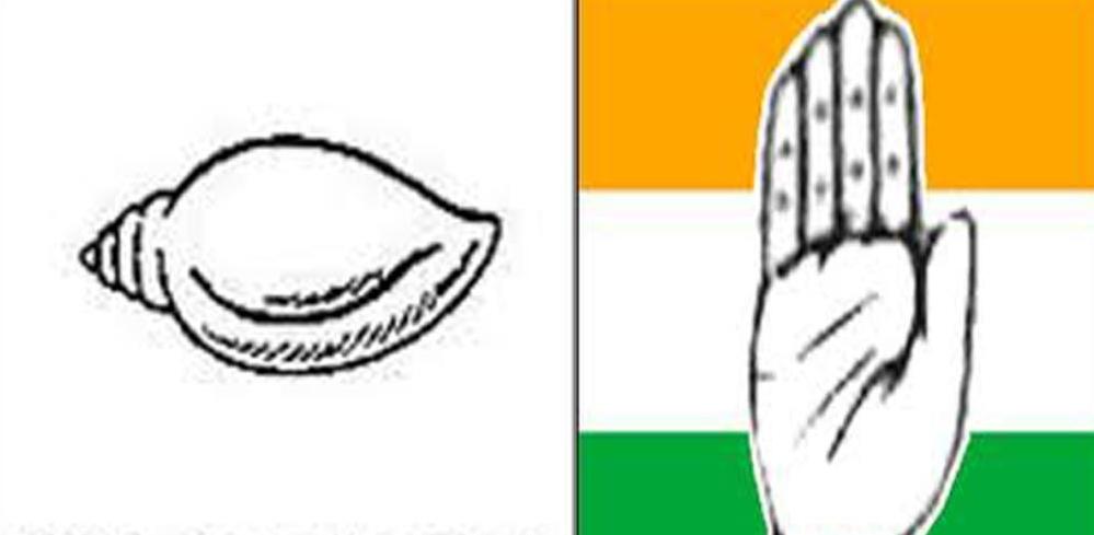 bjd and congress on kranti divas