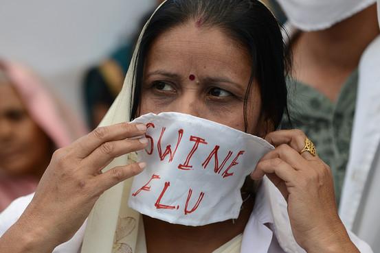 swine flu death