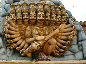 Raavana temple 2