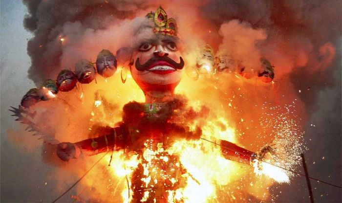 Ravana-Burning-
