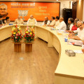 bjp core committee meeting