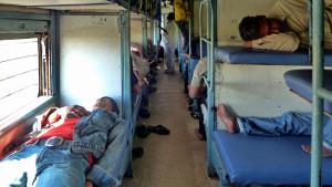 train sleeping