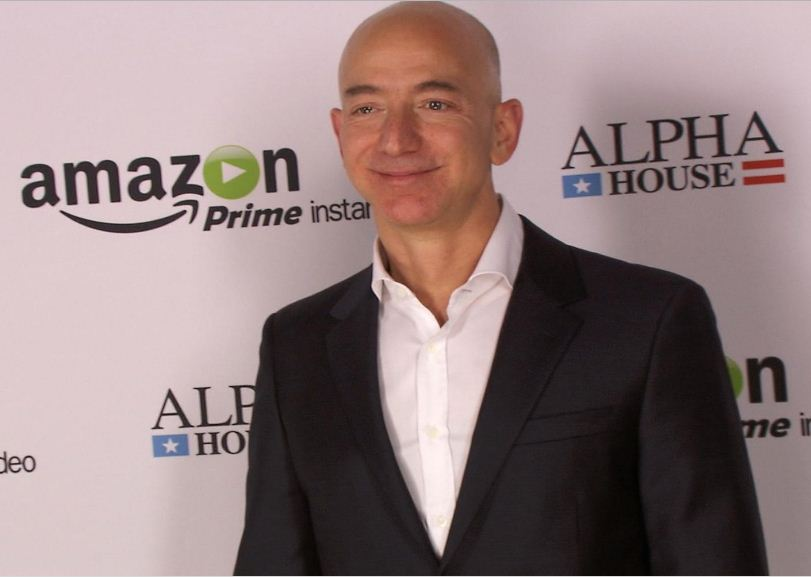 "jeff bezos amazoncom essay ""get big fast"" in 1994 jeff bezos, a former wall street hedge fund executive, incorporated amazoncom, choosing the name primarily because it began with the first letter of the alphabet and because of its association with the vast south american river."