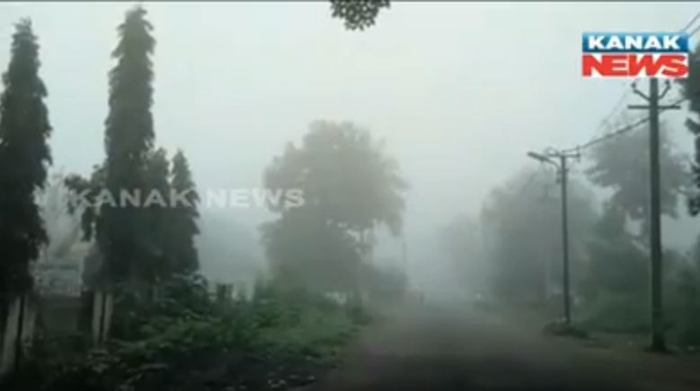 fog in odisha