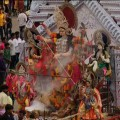 Visarjan ceremony of durga