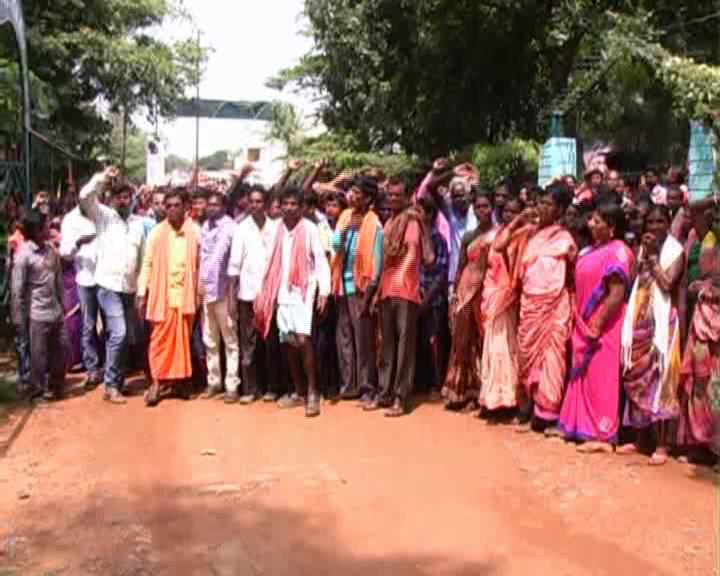 nabarangpur protest