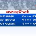 protest of anganwadi karmi