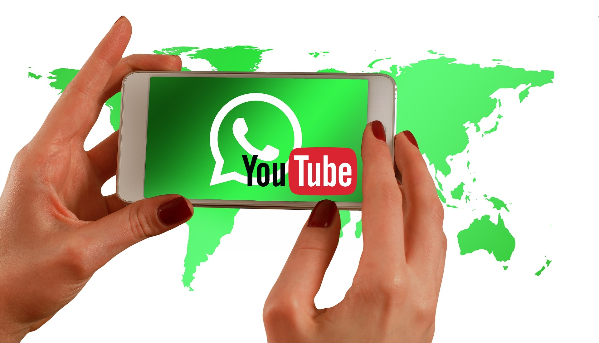 WhatsApp-YouTube