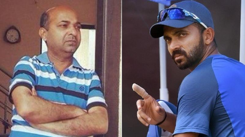 Ajinkya Rahane's father accused of killing woman in negligent driving, gets bail